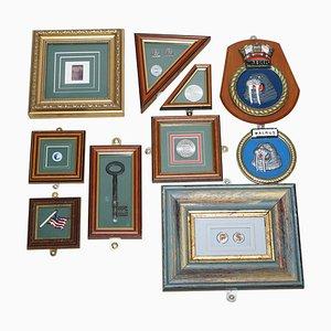American Folk Art Display Set