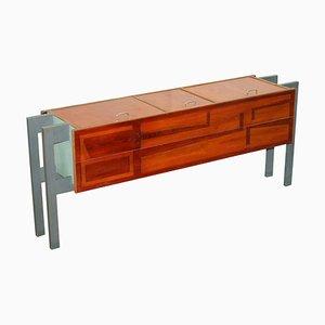 Modern Custom Made Sideboard with Upwards Opening Doors