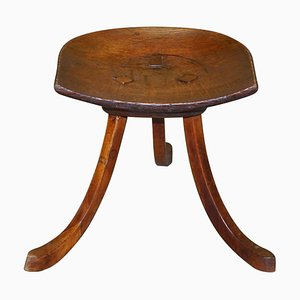 Antique Thebes Stool by L Wyburd