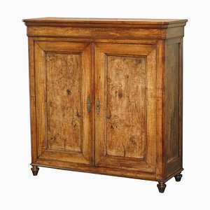 French Fruitwood Kitchen Cupboard, 1820s