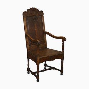 Sessel aus geschnitztem Holz, 18. Jh
