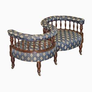 Antique Victorian Love Sofa