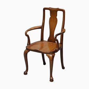 Victorian Walnut Desk Chair from Howard & Sons