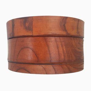 Handgefertigte Holz Dose