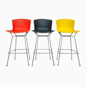Colored Stools by Harry Bertoia for Knoll, 1960s, Set of 3