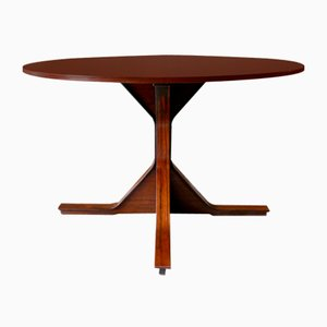 Round Model 522 Table by Gianfranco Frattini for Bernini, 1960s