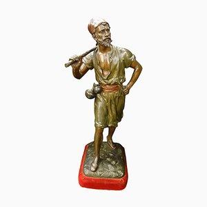 Orientalist French Bronze Sculpture by Debut