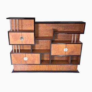 Art Deco Cabinet or Bookshelf, France, 1930s