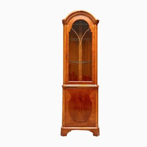 Vintage Antique Style Freestanding Corner Cabinet