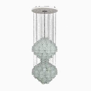 Double Pagode Pendant Chandelier from Kalmar, Vienna, 1960s