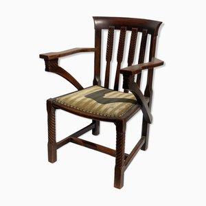 Britischer Arts and Crafts oder Art Deco Stuhl