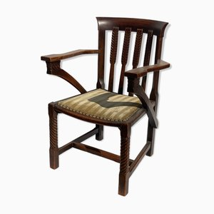 British Arts and Crafts or Art Deco Chair