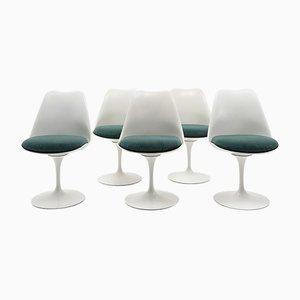 Chaises d'Appoint par Eero Saarinen pour Knoll, 1960s, Set de 5