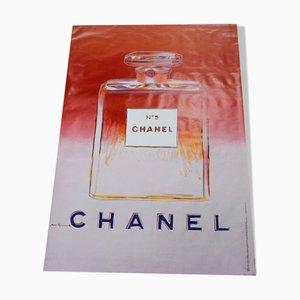 Großes Poster von Andy Warhol für Chanel