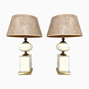 Table Lamps from Maison Le Dauphin, 1970s, Set of 2