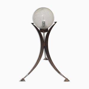 Brutalistische Dreibein Stehlampe, Deutschland, 1970er