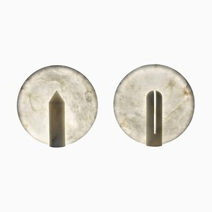 Bonnie & Clyde Tischlampen von Atelier Alain Ellouz, 2er Set
