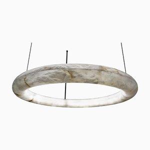 Alabaster Oslo Cable Pendant Light by Atelier Alain Ellouz