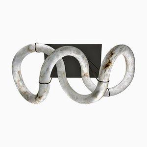 Lustre Infinity en Albâtre par Atelier Alain Ellouz