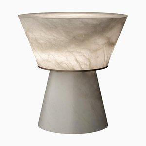 Lampe de Bureau Gama en Albâtre par Atelier Alain Ellouz