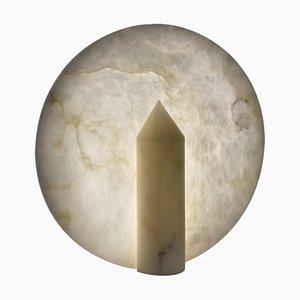 Clyde Alabaster Tischlampe von Atelier Alain Ellouz