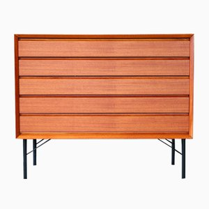 Mid-Century Modern Teak Chest of Drawers or Sideboard, 1960s