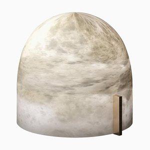 Alabaster Mona Tischlampe von Atelier Alain Ellouz
