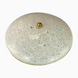 Mid-Century Space Age Flush Mount or Wall Lamp from Doria