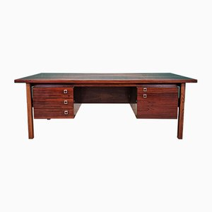 Mid-Century Danish Rosewood Executive Desk by Arne Vodder for Sibast
