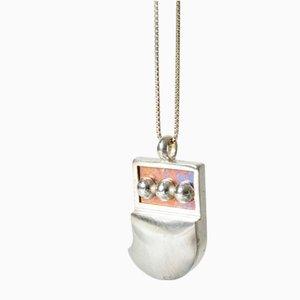 Silver Titaani Pendant by Nanny Still