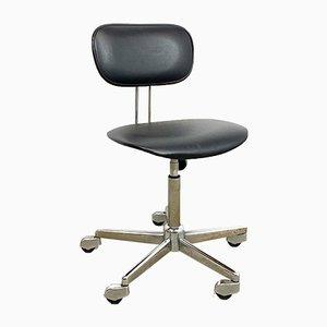 Schreibtischstuhl aus Skai Leder