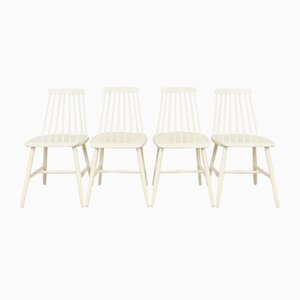 Vintage White Openwork Chair