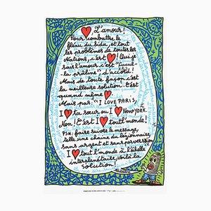 Love (AIDS) by Robert Combas
