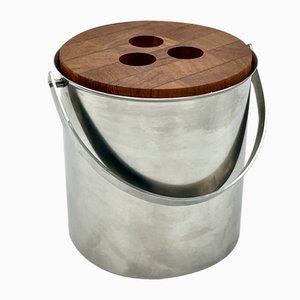 Ice Bucket by Arne Jacobsen for Stelton, Denmark, 1960s
