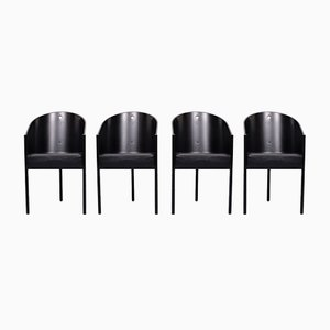 Costes Chairs by Philippe Starck, Set of 4