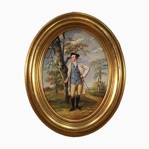 Italienische Malerei Portrait eines Gentleman