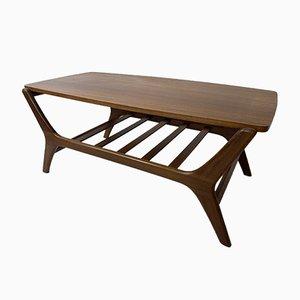 Scandinavian Mid-Century Modern Teak Coffee Table by Louis Van Teeffelen for Wébé