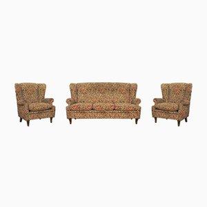 Barocke Sessel und Sofa, 1950er, 3er Set