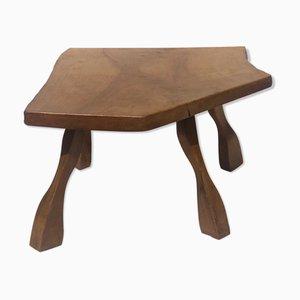 Brutalist Wabi Sabi Tree Side Table, 1960s or 1970s