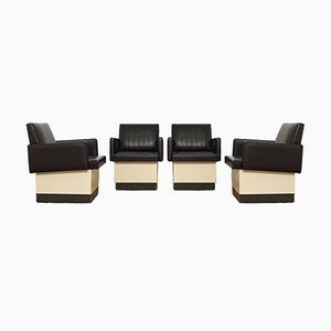 Hairdresser's Chairs, 1970s, Set of 4