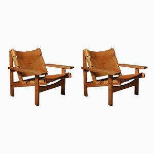 Hunting Chairs by Kurt Østervig for KP Møbler, 1960s, Set of 2