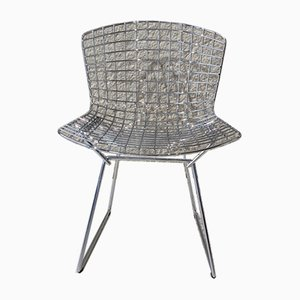 Chrome Chairs by Harry Bertoia for Knoll, Set of 4