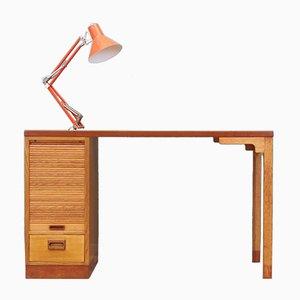 Eichenholz Schreibtisch von SKM, Dänemark, 1970er