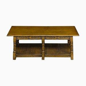 Early 20th Century Oak Coffee Table
