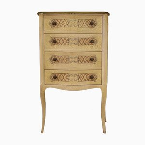Italian Lacquered and Painted Chest of Drawers