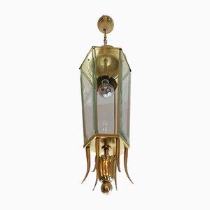 Lampe à Suspension en Forme de Lanterne de Lumen Milano, 1940s