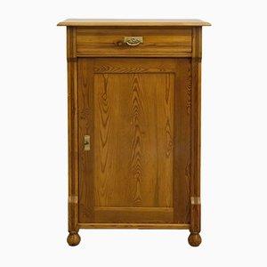 Art Nouveau Single-Door Vertiko or Cabinet, 1910s