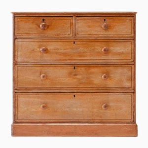 19th Century Victorian Pine Chest of Drawers