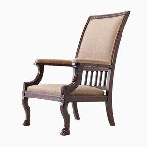 19th Century Mahogany Armchair