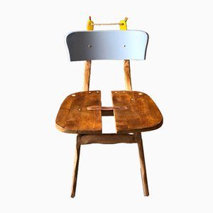 Past Forges Future Chair in Blue from Atelier Staab